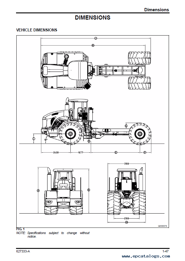 challenger terra gator 3244 chassis service manual pdf rh epcatalogs com Terra Gator 8103 Terra Gator 1844