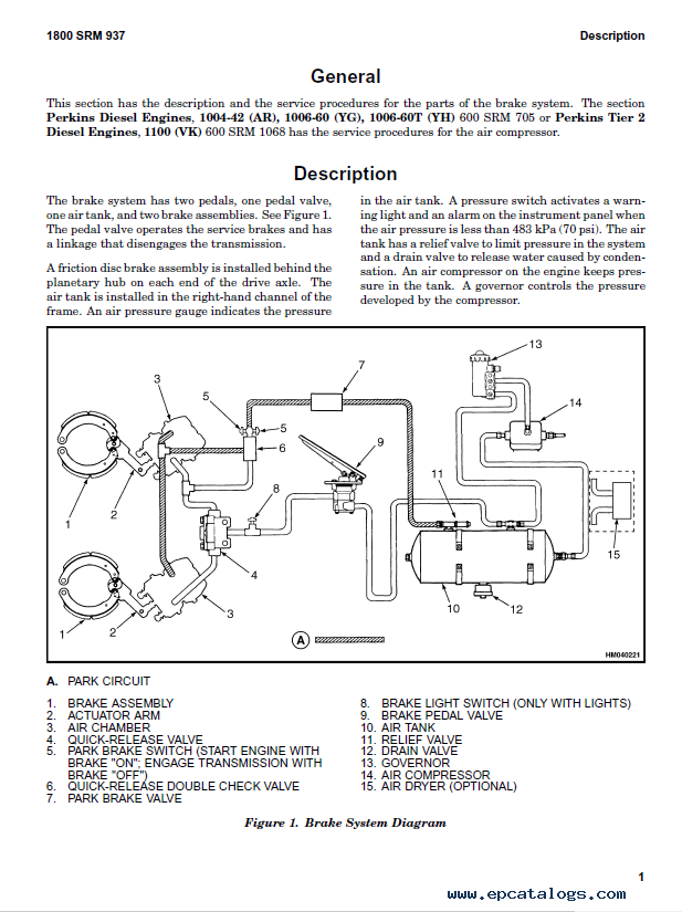 Wiring Manual PDF: 1006 Sienna Engine Diagram