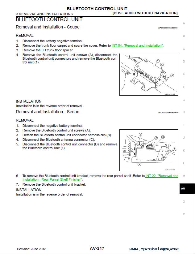 nissan altima 2011 repair manual