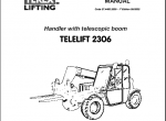 repair manual Terex Lifts - 1