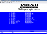 spare parts catalog VOLVO EPC - 1