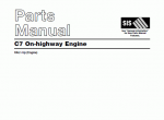 spare parts catalog caterpillar C7 On-highway Engine - 1