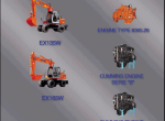 repair manual Fiat Hitachi Excavators EX - 1