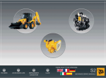 repair manual JCB Backhoe Loader Service Manual - 1