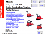 spare parts catalog Raymond forklift - 1