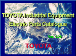 spare parts catalog Toyota Forklift Trucks, Lifttrucks - 1